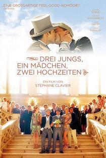 Assistir 3 rapazes, 1 moça, 2 casamentos Online Grátis Dublado Legendado (Full HD, 720p, 1080p) | Stéphane Clavier | 2004