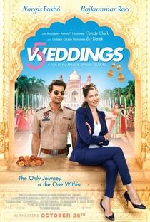 Assistir 5 Weddings Online Grátis Dublado Legendado (Full HD, 720p, 1080p) | Namrata Singh Gujral | 2018