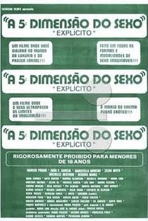 Assistir A 5ª Dimensão do Sexo Online Grátis Dublado Legendado (Full HD, 720p, 1080p) | José Mojica Marins | 1984