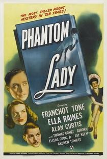 Assistir A Dama Fantasma Online Grátis Dublado Legendado (Full HD, 720p, 1080p) | Robert Siodmak | 1944