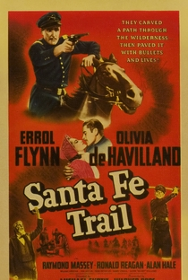 Assistir A Estrada de Santa Fé Online Grátis Dublado Legendado (Full HD, 720p, 1080p) | Michael Curtiz | 1940