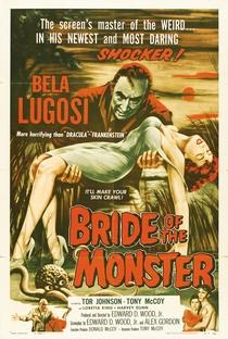 Assistir A Noiva do Monstro Online Grátis Dublado Legendado (Full HD, 720p, 1080p) | Ed Wood | 1955