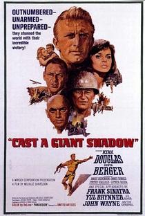 Assistir À Sombra de um Gigante Online Grátis Dublado Legendado (Full HD, 720p, 1080p)   Melville Shavelson   1966