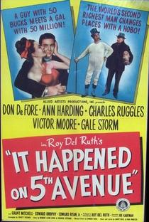 Assistir Aconteceu na Quinta Avenida Online Grátis Dublado Legendado (Full HD, 720p, 1080p) | Roy Del Ruth | 1947