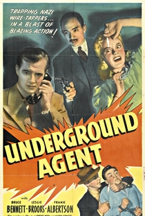 Assistir Agente Subterrâneo Online Grátis Dublado Legendado (Full HD, 720p, 1080p) | Michael Gordon (II) | 1942