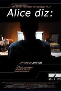 Assistir Alice diz: Online Grátis Dublado Legendado (Full HD, 720p, 1080p) | Beto Róa | 2012