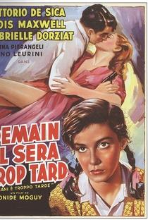 Assistir Amanhã Será Tarde Demais Online Grátis Dublado Legendado (Full HD, 720p, 1080p)   Léonide Moguy   1950