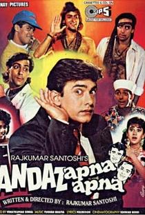 Assistir Andaz Apna Apna Online Grátis Dublado Legendado (Full HD, 720p, 1080p) | Rajkumar Santoshi | 1994