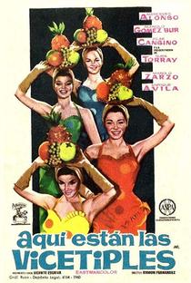 Assistir Aquí Están Las Vicetiples Online Grátis Dublado Legendado (Full HD, 720p, 1080p) | Ramón Fernández (I) | 1961