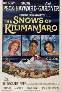 Assistir As Neves do Kilimanjaro Online Grátis Dublado Legendado (Full HD, 720p, 1080p)   Henry King (I)   1952