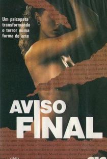 Assistir Aviso Final Online Grátis Dublado Legendado (Full HD, 720p, 1080p)   Steven Hilliard Stern   1989