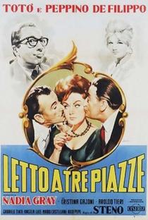 Assistir Cama para Três Online Grátis Dublado Legendado (Full HD, 720p, 1080p)   Steno   1960