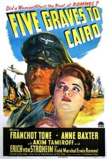 Assistir Cinco Covas no Egito Online Grátis Dublado Legendado (Full HD, 720p, 1080p)   Billy Wilder   1943