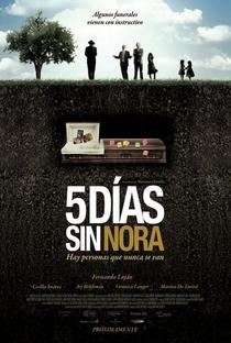 Assistir Cinco Dias Sem Nora Online Grátis Dublado Legendado (Full HD, 720p, 1080p) | Mariana Chenillo | 2008