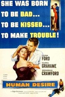 Assistir Desejo Humano Online Grátis Dublado Legendado (Full HD, 720p, 1080p)   Fritz Lang (I)   1954