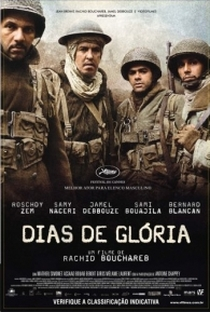 Assistir Dias de Glória Online Grátis Dublado Legendado (Full HD, 720p, 1080p) | Rachid Bouchareb | 2006
