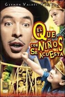 Assistir El que con niños se acuesta... Online Grátis Dublado Legendado (Full HD, 720p, 1080p) | Rogelio A. González | 1959