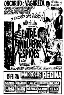 Assistir Entre Mulheres e Espiões Online Grátis Dublado Legendado (Full HD, 720p, 1080p) | Carlos Manga | 1961