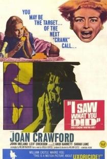 Assistir Eu Vi Que Foi Você Online Grátis Dublado Legendado (Full HD, 720p, 1080p)   William Castle   1965