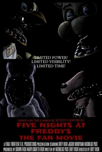 Assistir Five Nights at Freddy's: The Fan Movie Online Grátis Dublado Legendado (Full HD, 720p, 1080p) | Grey Rich | 2017