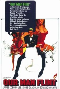 Assistir Flint Contra o Gênio do Mal Online Grátis Dublado Legendado (Full HD, 720p, 1080p) | Daniel Mann (I) | 1966