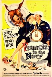 Assistir Francis na Marinha Online Grátis Dublado Legendado (Full HD, 720p, 1080p) | Arthur Lubin | 1955