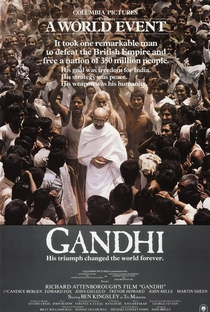 Assistir Gandhi Online Grátis Dublado Legendado (Full HD, 720p, 1080p) | Richard Attenborough | 1982