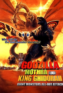 Assistir Godzilla, Mothra and King Ghidorah - Giant Monsters All Out Attack Online Grátis Dublado Legendado (Full HD, 720p, 1080p) | Shuusuke Kaneko | 2001