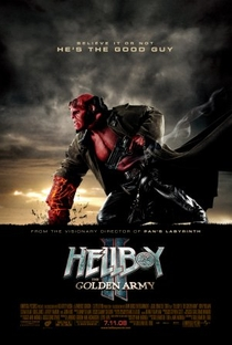 Assistir Hellboy II: O Exército Dourado Online Grátis Dublado Legendado (Full HD, 720p, 1080p)   Guillermo del Toro   2008