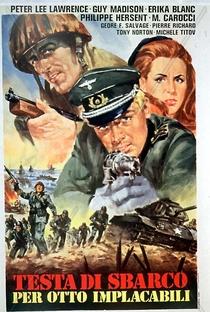 Assistir Inferno na Normandia Online Grátis Dublado Legendado (Full HD, 720p, 1080p) | Alfonso Brescia | 1968