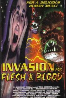 Assistir Invasion for Flesh and Blood Online Grátis Dublado Legendado (Full HD, 720p, 1080p) | Warren F. Disbrow | 1991