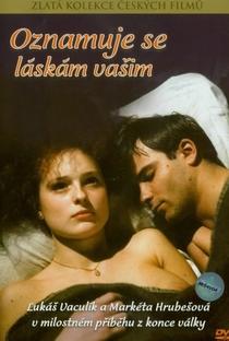 Assistir It is Announced to You Online Grátis Dublado Legendado (Full HD, 720p, 1080p) | Karel Kachyna | 1989