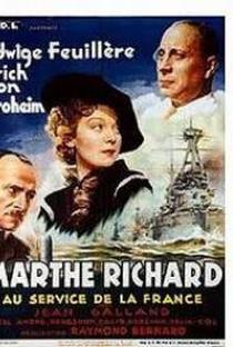 Assistir Marthe Richard au service de la France Online Grátis Dublado Legendado (Full HD, 720p, 1080p) | Raymond Bernard | 1937