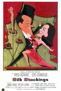Assistir Meias de Seda Online Grátis Dublado Legendado (Full HD, 720p, 1080p) | Rouben Mamoulian | 1957