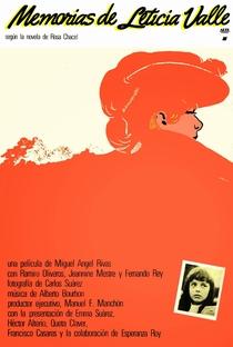 Assistir Memorias de Leticia Valle Online Grátis Dublado Legendado (Full HD, 720p, 1080p) | Miguel Ángel Rivas | 1980
