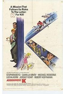 Assistir Missão Secreta K Online Grátis Dublado Legendado (Full HD, 720p, 1080p) | Val Guest | 1968