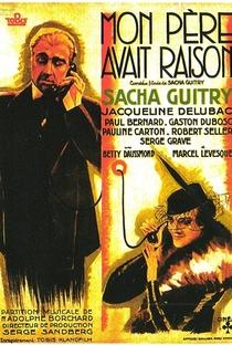 Assistir Mon père avait raison Online Grátis Dublado Legendado (Full HD, 720p, 1080p)   Sacha Guitry   1936