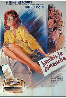 Assistir Nunca aos Domingos Online Grátis Dublado Legendado (Full HD, 720p, 1080p) | Jules Dassin | 1960