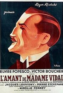Assistir O Amante de Madame Vidal Online Grátis Dublado Legendado (Full HD, 720p, 1080p) | André Berthomieu | 1936