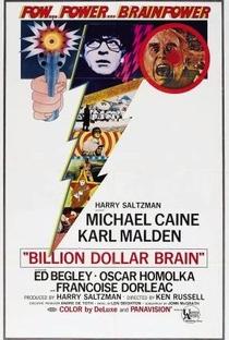 Assistir O Cérebro de Um Bilhão de Dólares Online Grátis Dublado Legendado (Full HD, 720p, 1080p) | Ken Russell | 1967