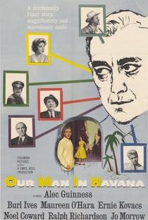 Assistir O Nosso Homem em Havana Online Grátis Dublado Legendado (Full HD, 720p, 1080p) | Carol Reed (I) | 1959