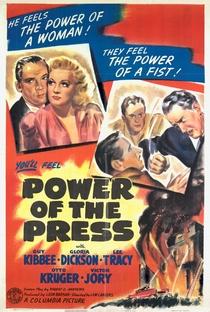 Assistir O Poder da Imprensa Online Grátis Dublado Legendado (Full HD, 720p, 1080p) | Lew Landers | 1943