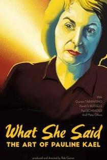 Assistir O Que Ela Disse: As Críticas de Pauline Kael Online Grátis Dublado Legendado (Full HD, 720p, 1080p) | Rob Garver | 2018