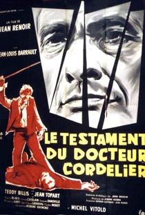 Assistir O Testamento do Dr. Cordelier Online Grátis Dublado Legendado (Full HD, 720p, 1080p) | Jean Renoir | 1959