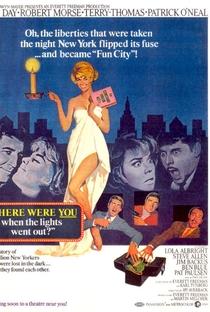 Assistir Onde Estavas Quando as Luzes se Apagaram? Online Grátis Dublado Legendado (Full HD, 720p, 1080p)   Hy Averback   1968