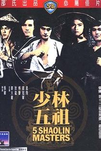 Assistir Os Cinco Mestres de Shaolin Online Grátis Dublado Legendado (Full HD, 720p, 1080p) | Chang Cheh | 1974