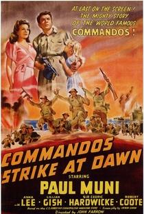 Assistir Os Comandos Atacam de Madrugada Online Grátis Dublado Legendado (Full HD, 720p, 1080p) | John Farrow (I) | 1942