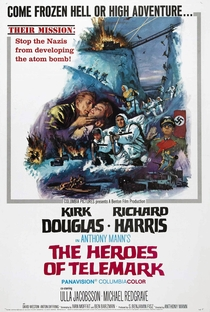 Assistir Os Heróis de Telemark Online Grátis Dublado Legendado (Full HD, 720p, 1080p) | Anthony Mann | 1965