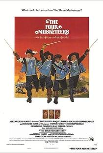 Assistir Os Quatro Mosqueteiros: A Vingança de Milady Online Grátis Dublado Legendado (Full HD, 720p, 1080p) | Richard Lester | 1974