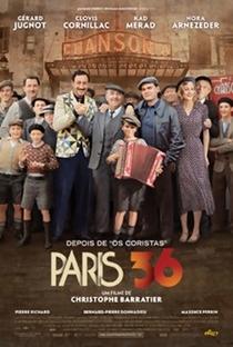 Assistir Paris 36 Online Grátis Dublado Legendado (Full HD, 720p, 1080p)   Christophe Barratier   2008